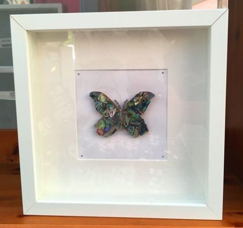 Box Frame Art - butterfly